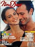 nous deux no 2250 du 14 08 1990 un parfait inconnu roman de danielle steel mode maternelle marie ange nardi