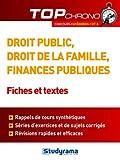 Telecharger Livres Droit public droit de la famille finances publiques Fiches et tests (PDF,EPUB,MOBI) gratuits en Francaise