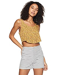 0aa36b30a36025 Amazon.in  Crop Tops  Clothing   Accessories