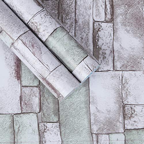 Einfache tapete schlafzimmer wohnzimmer studie hotel gast marmor backstein tapete schlafzimmer wohnzimmer tapete restaurant ktv hintergrundbild 45cmx10m