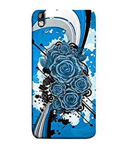 PrintVisa Designer Back Case Cover for HTC Desire 816 :: HTC Desire 816 Dual Sim :: HTC Desire 816G Dual Sim (Pattern Paint Abstract Illustration Backdrop)