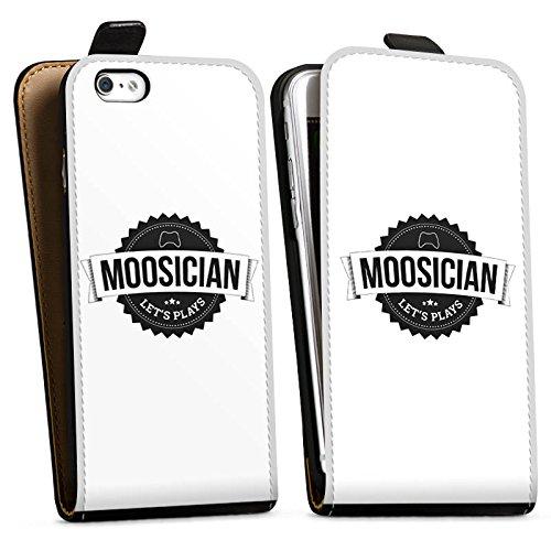 Apple iPhone X Silikon Hülle Case Schutzhülle M00sician Merchandise Fanartikel Let's Play Downflip Tasche schwarz