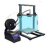 Luxnwatts Creality CR-10 Desktop 3D Drucker DIY Kit (300X300X400mm) Düse mit neuem Design Anti-Scalding, Anti-Kratzer, für TPU PLA ABS Filamente