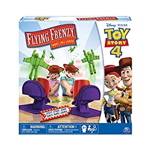 Cardinal Games 6052360 Disney Pixar Toy Story 4 Flying Frenzy Game, Multicolor Juguete de Peluche