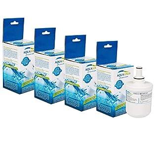 4 x Kühlschrank Wasserfilter AquaLogis AL-093G Ersetzt Samsung DA29-00003G (neu model)