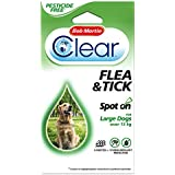Bob Martin Spot On Flea & Tick Protection For Large Dogs Over 15kg 12 Weeks Supply