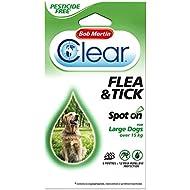 Bob Martin Clear Pesticide Free Spot On Flea Large Dog 12WK