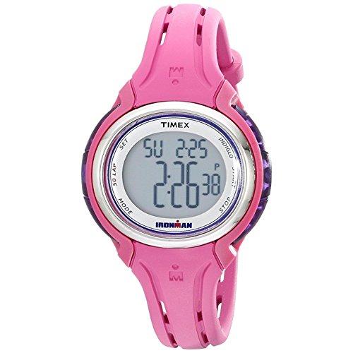 TIMEX Ironman Sleek 50 Reloj DE Mujer Cuarzo 36MM Correa DE Resina T5K904