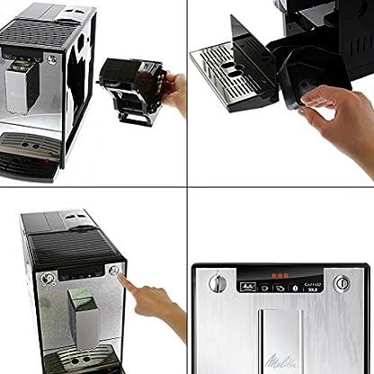 Melitta-Caffeo-Solo-E-950-Kaffeevollautomat-mit-Vorbrhfunktion