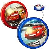 alles-meine.de GmbH LED Nachtlicht -  Disney Cars / Lightning McQueen - Auto - Rot  - inkl. Name..