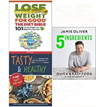 5 Ingredients quick & easy food[hardcover], diet bible, tasty & healthy 3 books collection set