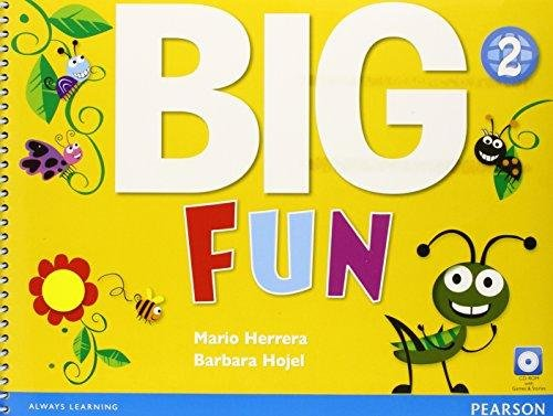 Big fun. Student's book. Per le Scuole superiori. Con ebook. Con espansione online. Con CD-ROM: Big Fun 2 Student Book with CD-ROM