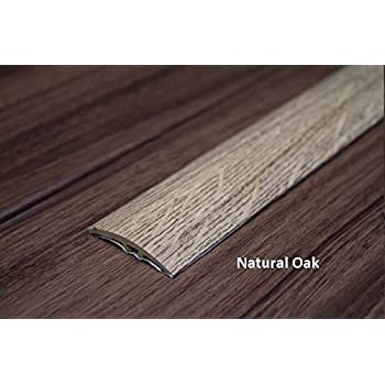 Threshold Transition Strip 40mm 7 Colours Wood Effect Cover