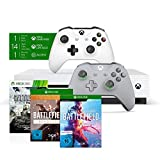 Xbox One S 1TB - Battlefield V Bundle + Xbox Wireless Controller 'Grey and Green' Special Edition