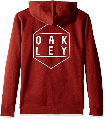 Oakley Herren Fleece Hexa-gone Fleece Fired Brick