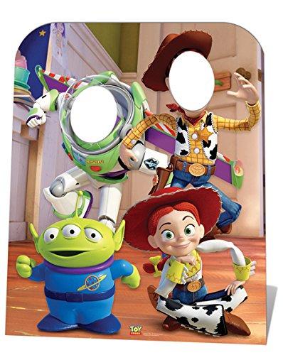 Fotowand Aufsteller Toy Story in Raumgröße 100 cm