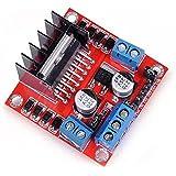 CAOLATOR L298N Placa del Controlador del Motor Módulo, Módulo del Tablero del Regulador Motor de Pasos de la CC para Arduino
