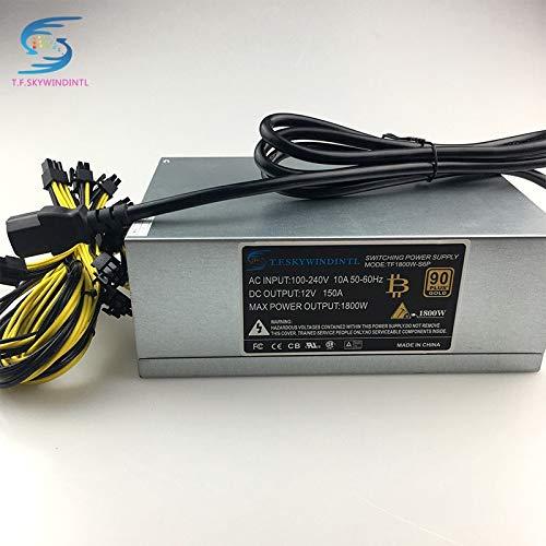 DIPU WULIAN 1800W 12V PSU Miner Mining Power Supply For A6 A7 S5 S7 S9 B3  C9 D3 E9 L3+ R4 Power Supply For BTC bitmain antminer s9