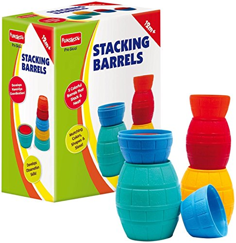 Toobeez 0205100-PRE Funskool Stacking Barrels Toy  available at amazon for Rs.1584