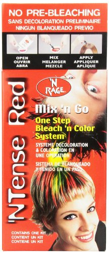 Ardell - 'N Rage - Mix 'n Go One Step Bleach 'n Color System - 'NTense Red - Nrage Mix