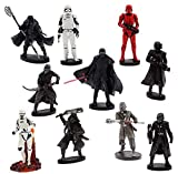 Disney Set 10 Personaggi PVC Il Primo Ordine - Star Wars L'ASCESA di Skywalker