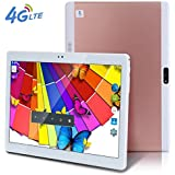Ultrathin 4G LTE 10inch Tablette PC Octa Core Android 6.0Tablette PC 32G RAM ROM 4G Dual SIM Dual Veille 4G Call WiFi 3G 710.1or rose