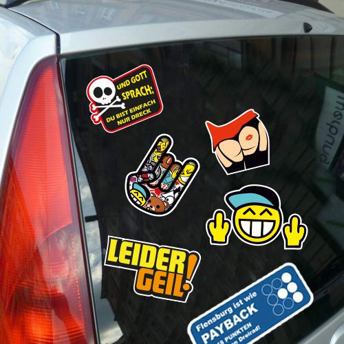 I love celle in zwei Größen erhältlich Aufkleber mehrfarbig JDM Decal Sticker Racing - 2