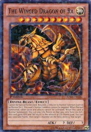 Yu-Gi-Oh! - The Winged Dragon of Ra (PGLD-EN031) - - - Premium Gold - Unlimited Edition - Gold Secret Rare by Yu-Gi-Oh! | Modèles à La Mode  7326dd