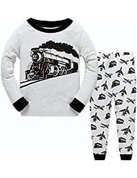 Pijamas de niño Pijamas para niños 100% algodón Coche - Nave Espacial ...