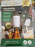 Taste Hero Flaschenaufsatz für Bier 1er Set | Wie frisch gezapft, macht jede Bierflasche zum Zapfhahn | Für Glas- und PET-Flaschen, spülmaschinengeeignet, weiß