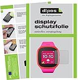 dipos I 6X Schutzfolie matt passend für Alcatel Movetime Family Watch MT30 Folie Bildschirmschutzfolie