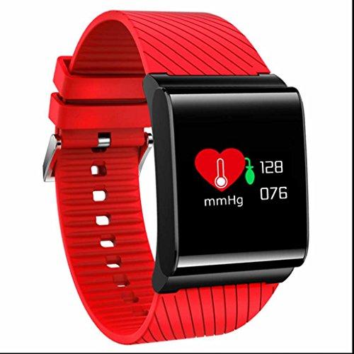 Sport Bluetooth Smartwatch Fitnessarmband sesshaft erinnern Elegantes aussehen empfindlicher Touch Screen Armband Bester Schlafanalyse kompatibel mit iPhone und Samsung Android Geräte usw