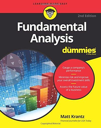 Fundamental Analysis FD 2e (For Dummies)