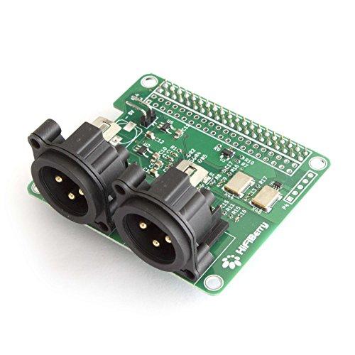 HiFiBerry DAC+ Pro XLR - Carte son avec connecteurs XLR pour Raspberry Pi A+ / B+ / 2B / 3B ( Catégorie : Carte son )
