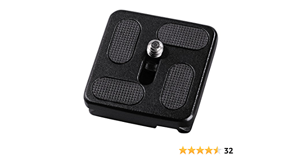 Hama Quick Release Plate For Traveller Black Camera Photo