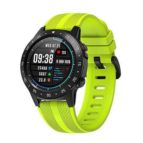 ZJH Sport Montre Intelligente, GPS Supports De Carte À Puce SIM Et Les Hommes De Téléphone Bluetooth Smartwatch Et Les Femmes IP67 Fréquence Cardiaque Imperméable À l'eau,B