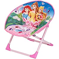 Preisvergleich für Disney-Motive Princess Moon Stuhl mit Material Oberfläche, 50 x 50 x 46 cm, Rosa