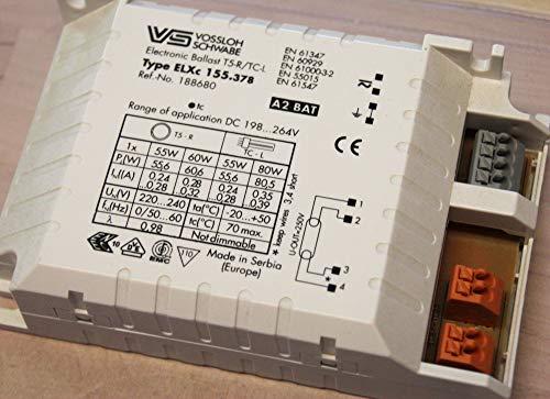 Houben Vorschaltgerät, Metall, Integriert, 10 W, Grau, 35 x 35 x 25 cm -