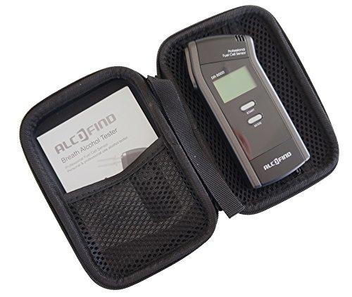 Alkoholtester Trendmedic Alcofind DA-8000 | mobiles digitales Atem-Alkoholmessgerät mit langzeitstabilen Fuel-Cell-Sensor bis 5.00‰ | polizeigenau | inkl. 25 Zusatzmundstücken - 6