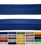 Roban Fashion Baumwoll Schrägband 50mm breit Textilband Blende in 24 Farben
