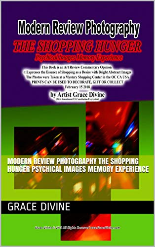 Modern Review Photography THE SHOPPING HUNGER  Psychical Images Memory Experience (English Edition)