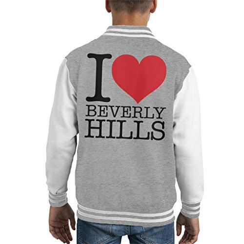 Coto7 I Heart Beverly Hills Kid's Varsity Jacket