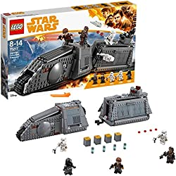 LEGO Star Wars - Véhicule Impérial Conveyex Transport - 75217 - Jeu de Construction
