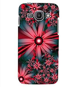 ColourCraft Flowers Design Back Case Cover for SAMSUNG GALAXY ACE 3 LTE S727