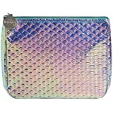 SCANWORLD Holographic Transparent Jelly Holographic Makeup Bag Iridescent Clear Waterproof Toiletry Travel Case Portable Cosm