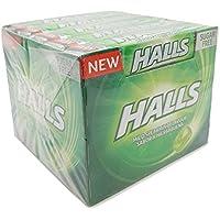 Halls - Sabor Hierbabuena Spearmint - Sin Azúcar - 20 unidades