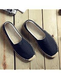 YOPAIYA Alpargatas Tallas Grandes 35-45 Bordado De Mujer Zapatos Negros Mocasines Casual Slip On Zapatos Mujer Zapatos De…