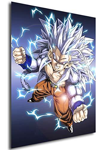 Poster Dragon Ball AF (C) - Vegeta Super Saiyan 5 (42x30 cm)