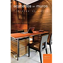 Acabados en muros / Finishes on Walls (Small Books)