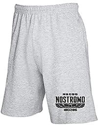 T-Shirtshock - Pantalones deportivos cortos TGAM0003 ALIEN 1979 USCSS NOSTROMO